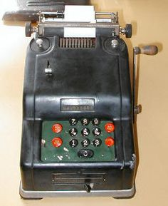 Old Adding Machine