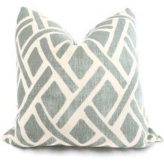 Kravet Laguna Trellis Decorative Pillow Cover 18x18 by PopOColor