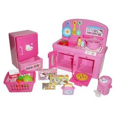 Hello Kitty toy kitchen set sanrio japan 100% sale Japan