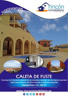 Properties/Viviendas Castillo de Caleta de Fuste, Fuerteventura, 121.100 €