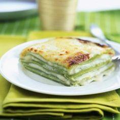 Lasagnes vertes aux 4 fromages
