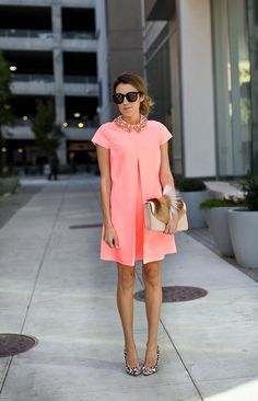 Embellished Collar Dress