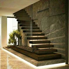Trendy Home Design Ideas Living Room Staircases Ideas Home Stairs Design, Interior Stairs, Modern House Design, Interior Design Living Room, Living Room Designs, Painted Stair Railings, Casas Country, Architecture Design, Architecture Colleges