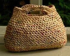 Upcycled plarn reusable