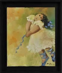 Resultado de imagem para pinturas a oleo bailarinas