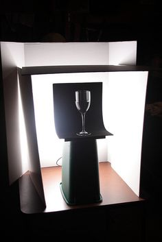 Glass Setup Shot #1 by Steve Wampler Photography, via Flickr