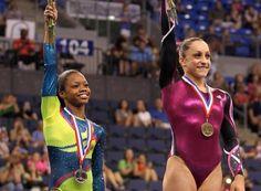 Gabby Douglas and Jordyn Wieber raise bar for US gymnastics