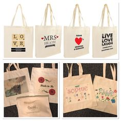 Personalised Tote Bag - Raffle
