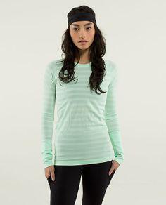 Lululemon Swiftly Tech Long Sleeve Stripe $68