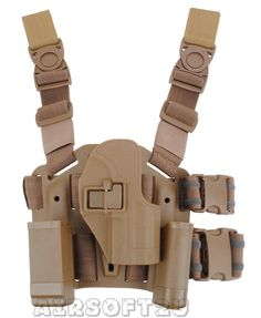 4in1 CQC Tactical Holster For H USP Tan