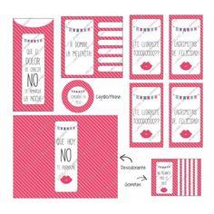Kit De Baño Imprimible Sos Emergencias Bodas 15 Año Set Bff Birthday, Diy And Crafts, Meraki, Planners, Ideas, Printables, Baby Shower, Events, Weddings
