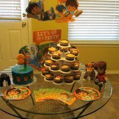 Go Diego Go 3rd birthday party idea