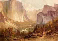 The Athenaeum - Yosemite Valley (Thomas Hill - )