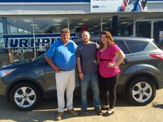 Johnny Dickens and the rest of the Turnpike Ford Team wish to thank Mr. & Mrs. Smith for their support 😉👍