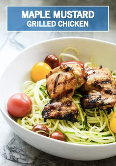 This Maple Mustard Grilled Chicken recipe is packed full of delicious and fresh flavor. In less than 30 minutes, you'll have a complete, wholesome and high protein dinner on the table that your whole family is going to love. With a little help from Kroger's ClickList, you can add this dish to your weekly grocery list. You and your family will be happy you did!