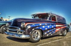 Remembering those who nobly gave their all. Beautiful tribute to our American troops. Look closely & you'll see the mural on this '49 Chevy panel wagon. ... #rebelrouserhotrods #blacktoprebel #hotrod #texas #InstaDFW #kustomkulture  #oldcar #kustom #hamb #streetcar #rockabilly #streetrod #vintage #custom #paintjob #instagood #classiccar #americana #supportthetroops #proudamerican #classicchevy #memorialday #honor #military #militarylife #remember #chevylife #dallas  #freedom #thankyou