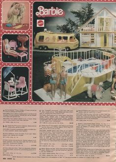 1982 This is from a Sears wish book...I remember sitting at grandma's house going through these books!