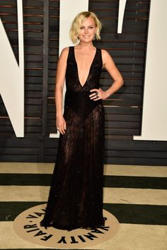 Malin Akerman. See what all the stars wore to the Academy Awards' biggest after parties.