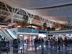 羽田空港 国際線旅客ターミナル / Tokyo-Haneda International Airport - Int'l Terminal (HND / RJTT) in 東京, 東京都
