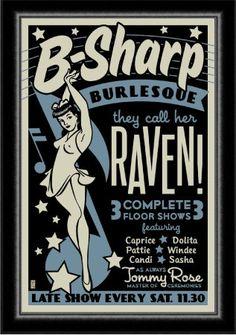 Burlesque Show, Vintage Burlesque, Cabaret Vintage, Vintage Labels, Vintage Ads, Vintage Posters, Vintage Images, Vintage Web Design, Band Posters