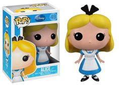 Look through the hourglass to find Alice as an adorably stylized vinyl figure. This Alice in Wonderland Disney Princess Pop. Vinyl Figure features the curious little girl from Disney's Alice in Wonder...