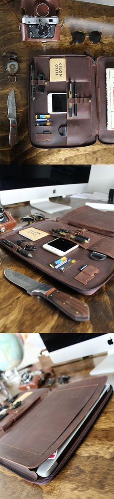 Apple leather case for macbook air and pro