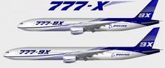 Boeing ha confermato il lavoro sullo sviluppo del 777X, una nuova versione del suo best-seller a lungo raggio, in grado di  far concorrenza all' Airbus A350-100 Airbus, che sarà pronto a volare nel 2017    Boeing non vuole lasciare andare la propria leadership nel segmento dei voli a lungo raggio con il B777 e B787 .