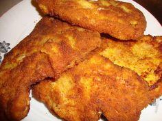 Snitele vieneze de porc Fries, French Toast, Fat, Cooking Recipes, Deep, Breakfast, Vienna, Pork, Morning Coffee