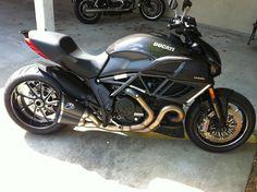 Bad boy Ducati Diavel