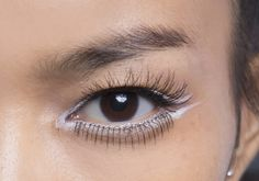 Eyeliner blanc double trait