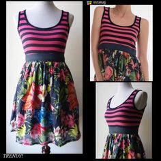 🌺HP 11/28🌺WHIMSICAL DESIGN FROM ANTHROPOLOGIE! So cute! Multi colors, empire waist and multi print! An adorable dress for any occasion! 100% cotton. See size chart in last photo. Anthropologie Dresses