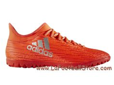 competitive price 66abf 775c7 Adidas Homme Football Chaussues X 16.3 TF Solar Red Silver Metallic Hi-Res  Red S79576