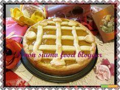Crostata con Composta di Pesche  #ricette #food #recipes