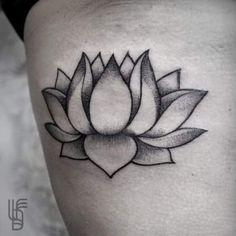 Simply Lotus Flower tattoo More