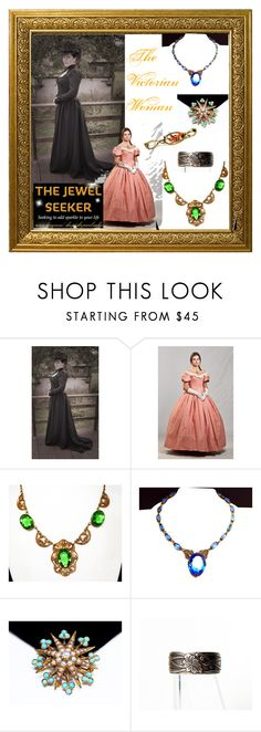 """The Victorian Woman:  Moves into the 21st Century"" by thejewelseeker-1 ❤ liked on Polyvore featuring modern and vintage"