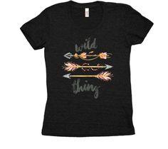 Tshirt Wild thing... Mens Tops, T Shirt, Fashion, Hunters, Moda, Tee, Fasion