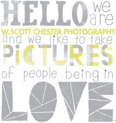 fun website!  w. scott chester photography • atlanta wedding + lifestyle photographers • available globally