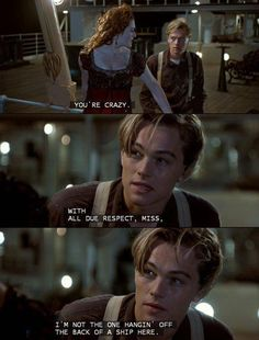 Titanic-OK I am OBSESSED with this movie!! I watch it everytime it comes on so i know I've seen it well over a hundred times. I even forced my coworker @Lillie Granados to go watch it with me in 3D at the movies,lol!! She tells me I need help, but I think she does for only seeing it twice,ha ha!