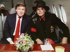 マイケルとドナルドトランプ氏の写真ありました!|♥マイケルは愛のメッセンジャー♥