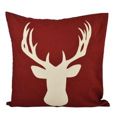 You'll love the Deer Cotton Throw Pillow at Wayfair - Great Deals on all Décor & Pillows products with Free Shipping on most stuff, even the big stuff.