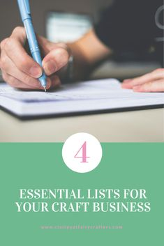 Keep your handmade business on track with these 4 essential lists that will keep you organised. The post 4 essential lists for your craft business to keep you on track appeared first on Clairey at Fairy Crafters.