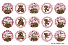 15 Love Bears All Things 1 Digital Download for 1 by MaddieZee, $1.25