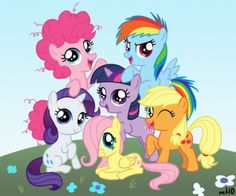 Little Filly - Filly Mane 6