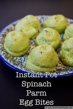 Best Egg Recipes, Low Carb Recipes, Cooking Recipes, Spinach Egg, Spinach Recipes, Instant Pot Pressure Cooker, Pressure Cooking, Tater Tot Breakfast, Mini Pumpkin Pies