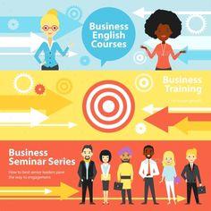 Business Training Horizontal Banners