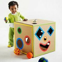 You can make many things from old cardboard boxes.And there are amazing cardboard projects for your kids too.Here we gathered DIY ideas for cardboard guitars Cardboard Box Crafts, Cardboard Toys, Cardboard Box Ideas For Kids, Cardboard Playhouse, Cardboard Furniture, Cardboard Kitchen, Kids Crafts, Crafts To Make, Science Crafts
