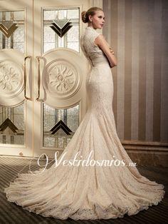 Una guía a los velos vestido de boda dans vestidos de noche Elegante-y-Vintage-Sirena-Vestidos-de-Novia-de-Encaje-p-VW1258_1