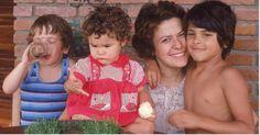 Elis Regina e filhos