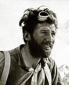Hermann Buhl (September 21, 1924 – June 27, 1957) one of the best climbers of all time. He was innovative in applying alpine style to Himalayan climbing. Just a few weeks after the successful first ascent of Broad Peak Buhl and Kurt Diemberger made an attempt on nearby, unclimbed Chogolisa peak (7654 m) in alpine style. Buhl died when he fell through a cornice on the southeast ridge near the summit of Chogolisa. His body was never found.