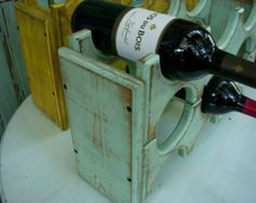 Handmade Wooden Wine Rack Smaller Size Holds by honeystreasures